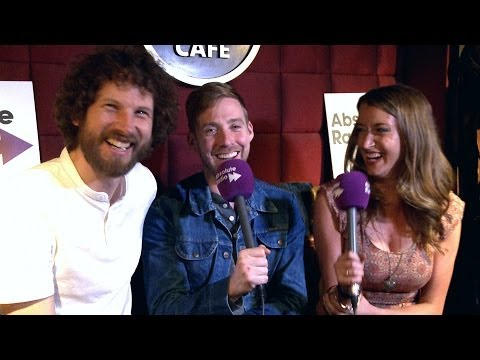Kaiser Chiefs (Ricky and Simon) interview at Hard Rock Cafe 2014