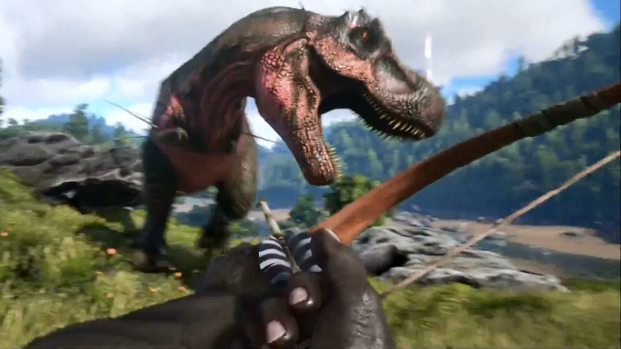 Ark Survival Evolved Trailer Dinosaur Games 2015 Ps4