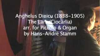 The Lark by Anghelus Dinicu (1838-1905) arr. for Piccolo & Organ by H. A. Stamm