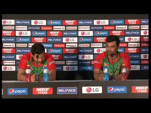 ICC Cricket World Cup 2015 - Live Post Match Press Conference Bangladesh v Scotland - Nelson
