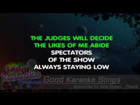 The Winner Takes It All - Abba ( Karaoke Lyrics )