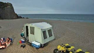 Jumping Jack Off Road Camping Tent Trailer Toy Hauler ALL IN ONE!
