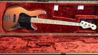 Fender American Performer Jazz Bass [2 Minute Demo]