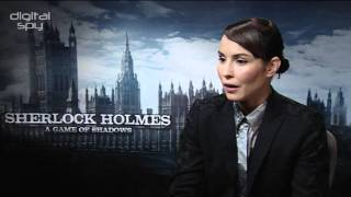 Noomi Rapace Sherlock Holmes interview: 'I enjoyed playing with the boys'