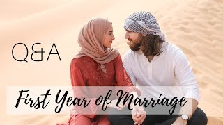 Q&a With My Husband! | First Year Of Marriage, Babies? How We Met