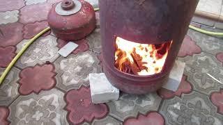 Чудо печка самовар за пять минут