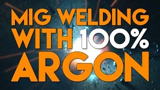 100% CO2 vs C25 MIG Mix vs 100% Argon for MIG Welding | MIG Monday thumbnail