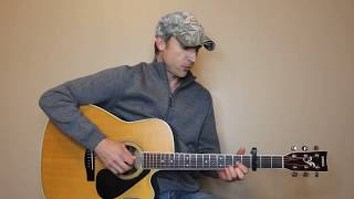 Husbands And Wives - Brooks & Dunn - Guitar Lesson | Tutorial