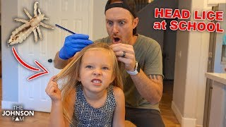 LICE at PRESCHOOL!!! 😱