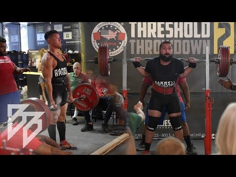 BARBELL BRIGADE TEAM COMPETES!