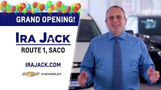 Fun, Fair & Easy! Get Ira Jack Grand Opening Savings on a New 2019 Chevy Silverado
