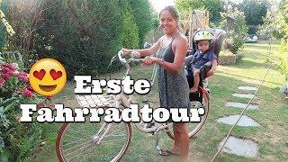 Die Erste Fahrradtour mit Carlos - Vlog#1002 Rosislife