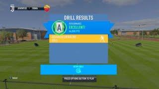 Advanced dribbling skill game