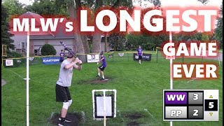 The Longest Game in MLW History | MLW Wiffle Ball