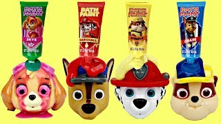 Paw Patrol Bathtub PaiPaw Patrol Bath Paints & Squirters with Skye, Ryder & Chase