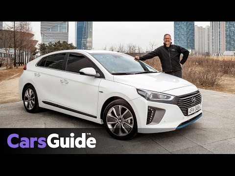 Hyundai Ioniq 2017 review first drive video