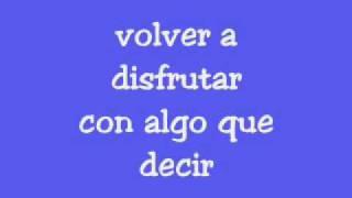 EL CANTO DEL LOCO - volver a disfrutar (letra) thumbnail