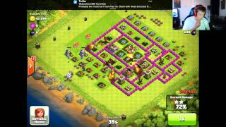 Clash of Clans - HUGE RAIDS with DRAGONS! (Clash of Clans Raids & Tips)