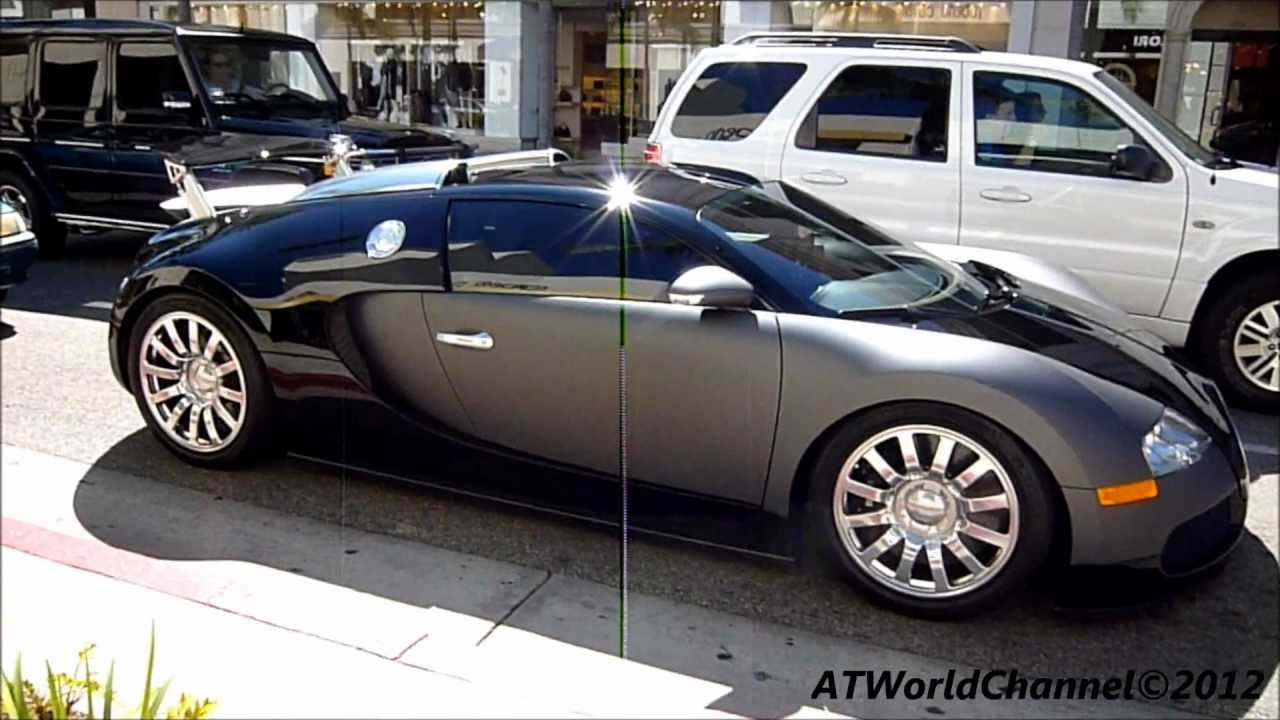 bugatti veyron 16 4 small rev engine acceleration sound driving on the road matte grey 1080p. Black Bedroom Furniture Sets. Home Design Ideas