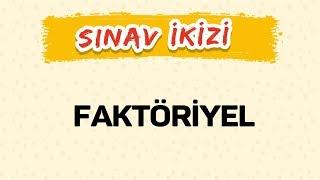 FAKTÖRİYEL - Yeni Nesil Sorular - Şenol Hoca
