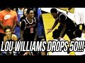 Lou Williams DROPS 50 at Drew League! + Bobby Brown INSANE RANGE THREES Scores 35!