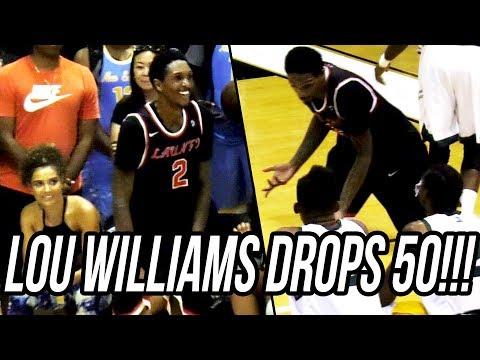 Lou Williams DROPS 50 at Drew League! + Bobby Brown INSANE RANGE THREES Scores 35!