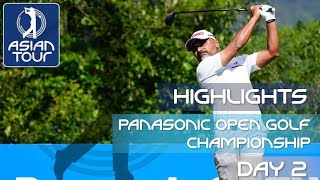 Panasonic Open Golf Championship | Round 2 Highlights 2019