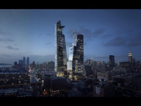 UPDATE 03/2017 Architects Skidmore Owings & Merrill -The 30 Hudson Yards- Manhattan Tower 387m-73 fl