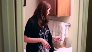 What Can You Use To Store Toilet Paper In A Small Bathroom? : Home Organizing