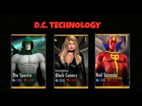 INJUSTICE GODS AMONG US MOBILE: NEW AMAZING CHARACTERS IN NEXT UPDATE 2.15?!