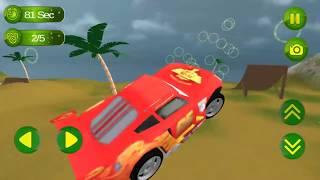 Superheroes Hill Dash Car Stunt: Cheeky Drift Game FHD-Android Gameplay-Standard Games