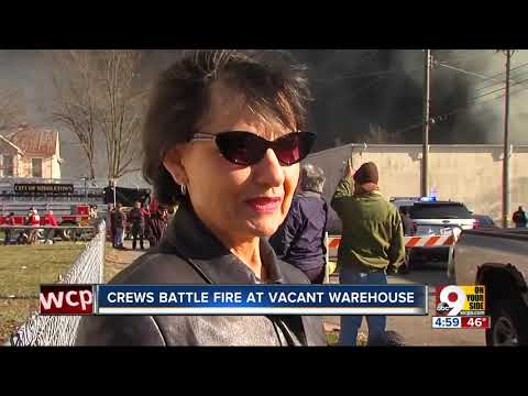 Chief: Fire At Former Middletown Paperboard Building 'catastrophic'