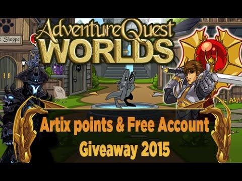 =AQW= Free Account + 2,000 Artix Points Giveaway 2015