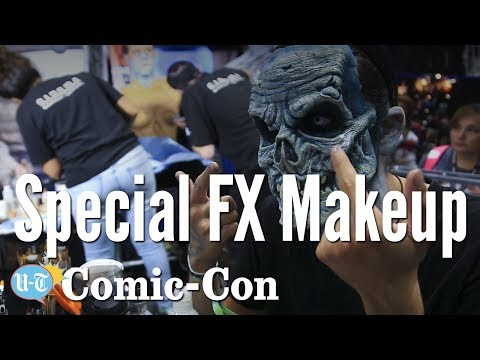 Special FX Makeup Demo: Comic-Con   Los Angeles Times