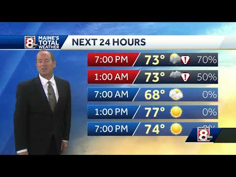 Roger continues to track the evening storms. Check out his latest forecast!