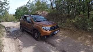 New Dacia Duster 4x4 offroad Milovice 2018