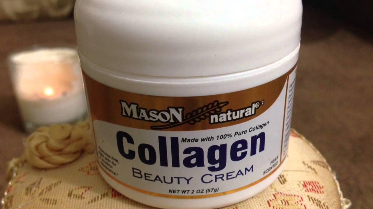 Collagen Beauty Cream كريم كولاجين من شركة Mason Natural Youtube