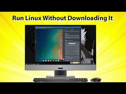 Try Any Linux Distros Without Downloading Them