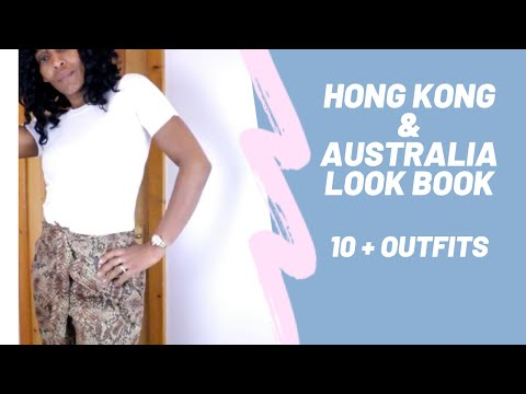 Travel Look book - Hong Kong & Australia Mar 2019