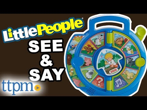 Little People World Of Animals See N' Say From Fisher-Price