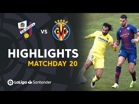 Huesca Villarreal Goals And Highlights