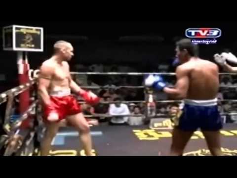 Claudio Amoruso vs Ung Vireak Muay Thai event in Cambodia