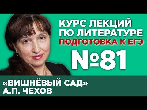 А.П. Чехов «Вишнёвый сад» (содержательный анализ)   Лекция №81