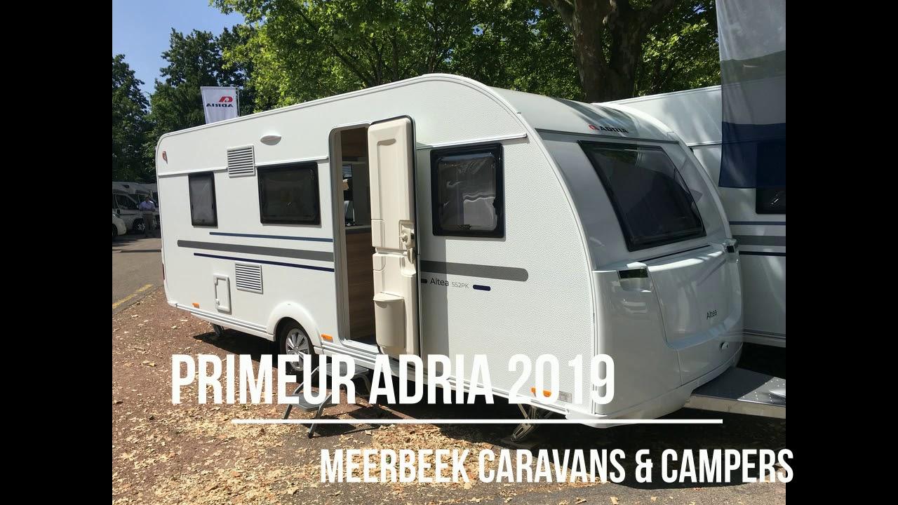 Adria Caravans 2019 nieuws nu bij Meerbeek Caravans & Campers
