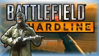 Battlefield Hardline Funny Moments - RPG Triple, Rooftop Defense, and Grenade!