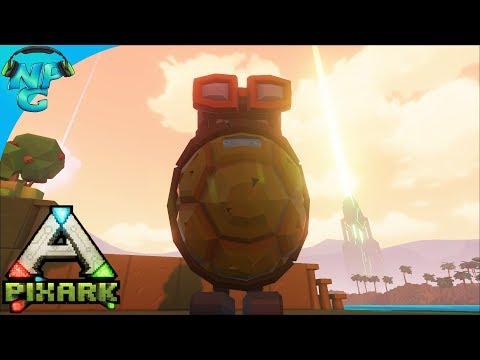 PixARK - PVP Meta Testing, Floating Sky Castle Dreams and Taming a Pteranadon! E3