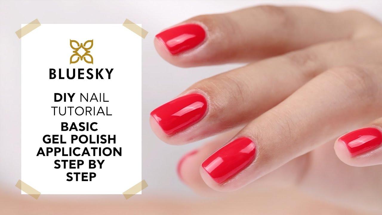 BLUESKY @Home - Basic Gel Polish Application Tutorial