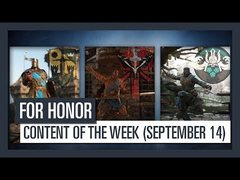 FOR HONOR - New content of the week (September 14)