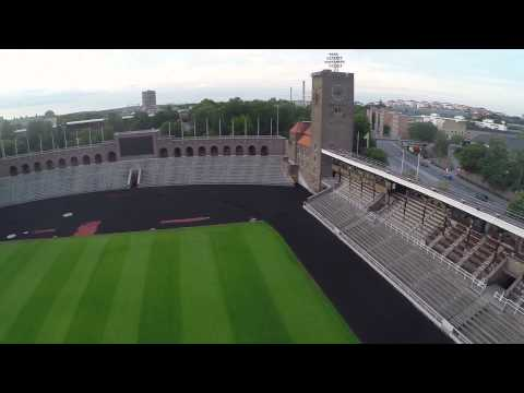 Stockholms stadion - Stockholm Olympic Stadium from the 1912