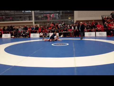 2015 Senior National Championships: 53 kg Emily Schaefer vs. Cara Nania
